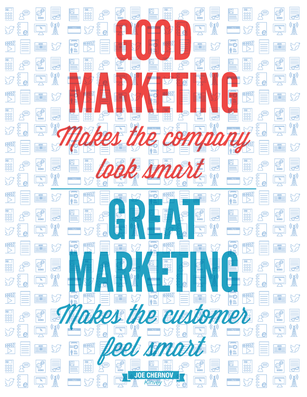 good-great marketing quote
