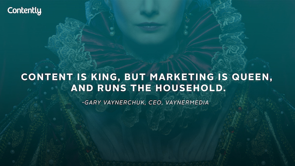 marketing is queen quote