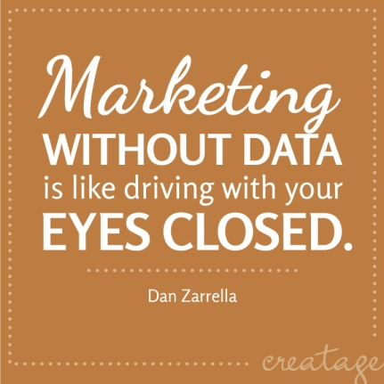 marketing without data quote