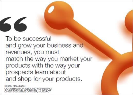 match marketing quote - hubspot