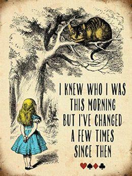 Alice in Wonderland Changes
