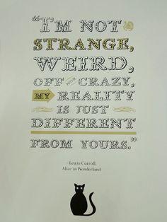 Alice in Wonderland Different Realities