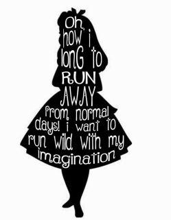 Alice In Wonderland Imagination