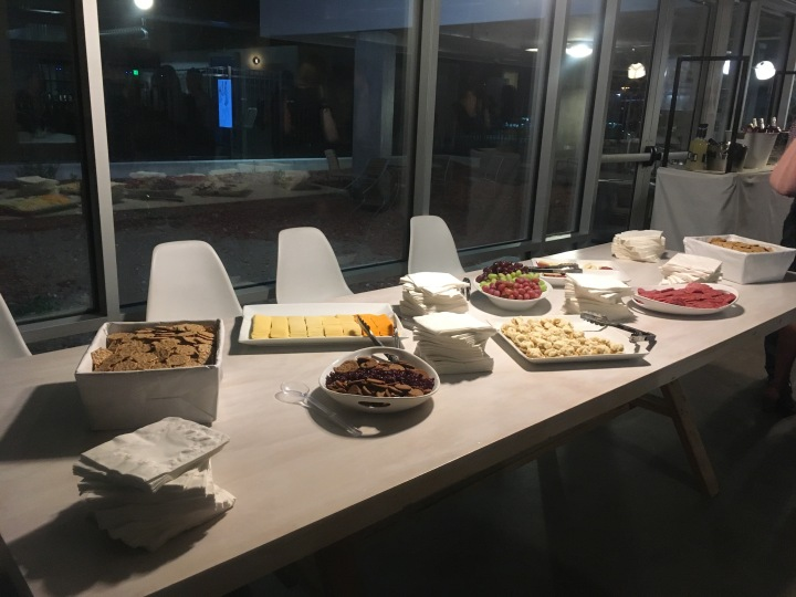 Launch Party Food Table