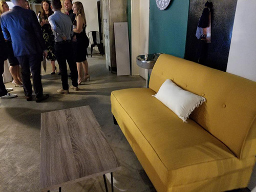 Launch People Yellow Couch