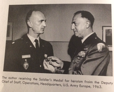Col Benjamin Landis Receiving Soldier's Medal